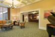 The Murdough Pavilion redesigned lobby and reception area..
